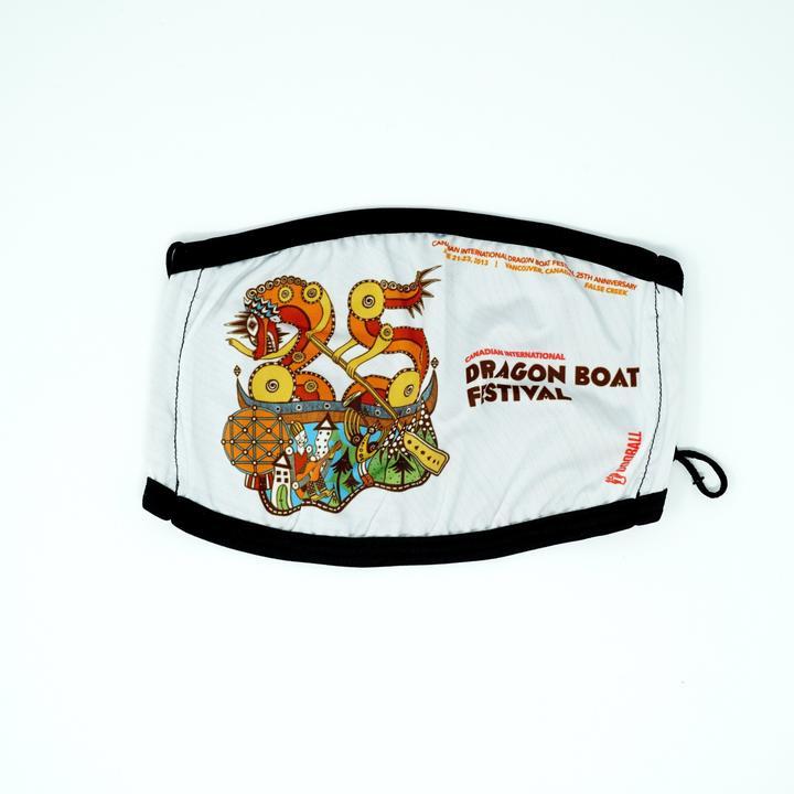 2013 Canadian International Dragon Boat Festival 2-Layer Fabric Face Mask