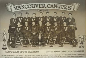 1945 Vancouver Canucks Team