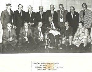 1945 Vancouver Canucks Reunion